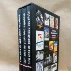Libros de segunda mano: CIEN AÑOS DE PUBLICIDAD ESPAÑOLA 1899-1999. TELEFÓNICA, 2000.. Lote 213771407