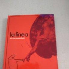 Livres d'occasion: LA LINEA DI O. CAVANDOLI, FIRMADO Y CON DIBUJITO. Lote 216455603