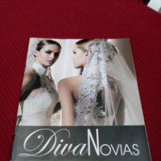 Libros de segunda mano: REVISTA DE MODA DE NOVIAS. DIVA NOVIAS. COLECCIÓN 2011. Lote 217516655