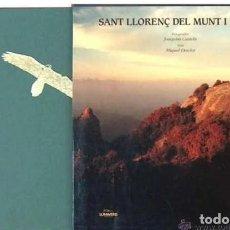 Libros de segunda mano: IMPRESIONANTE LIBRO DE FOTOGRAFIAS DE JOAQUIN CASTELLS, SANT LLORENC DEL MUNT I L'OBAC 30,50 X 29,50. Lote 217646098