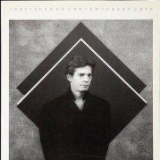 Libros de segunda mano: ROBERT MAPPLETHORPE (1970-1983) EXPOSICIÓN EN ICA, LONDON 1983. (EXPOSICIÓN EN VIDA). Lote 217802797