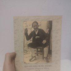 Libros de segunda mano: TRAS LAS HUELLAS DEL PASADO, FOTOGRAFIAS ANTIGUAS DE VALBONA, ANA CASTAÑER. 2008. Lote 217810538