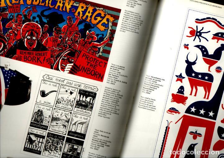 Libros de segunda mano: MILTON GLASER / MIRNO ILIC : DISEÑO DE PROTESTA (GILI, 2006) - Foto 2 - 217964045