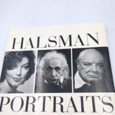 Livres d'occasion: HALSMAN PORTRAITS. Lote 217997585