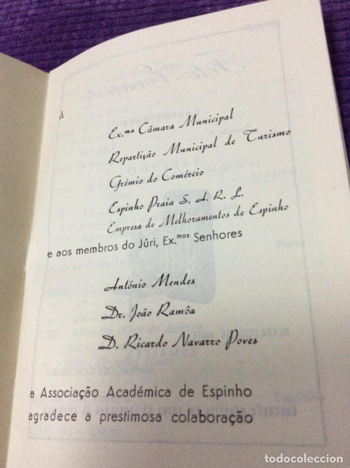 Libros de segunda mano: 3.º Salão de Arte Fotográfica de Espinho, 27 de Agosto a 7 de Setembro, 1954. En portugués. - Foto 2 - 218048277