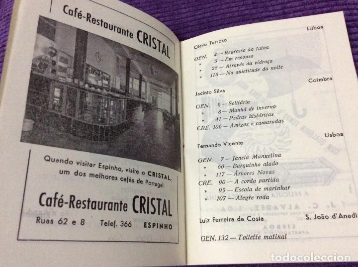 Libros de segunda mano: 3.º Salão de Arte Fotográfica de Espinho, 27 de Agosto a 7 de Setembro, 1954. En portugués. - Foto 3 - 218048277