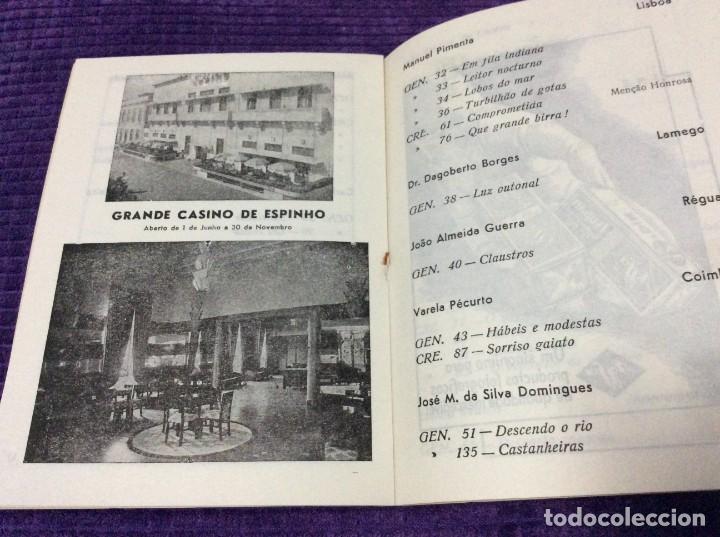 Libros de segunda mano: 3.º Salão de Arte Fotográfica de Espinho, 27 de Agosto a 7 de Setembro, 1954. En portugués. - Foto 4 - 218048277