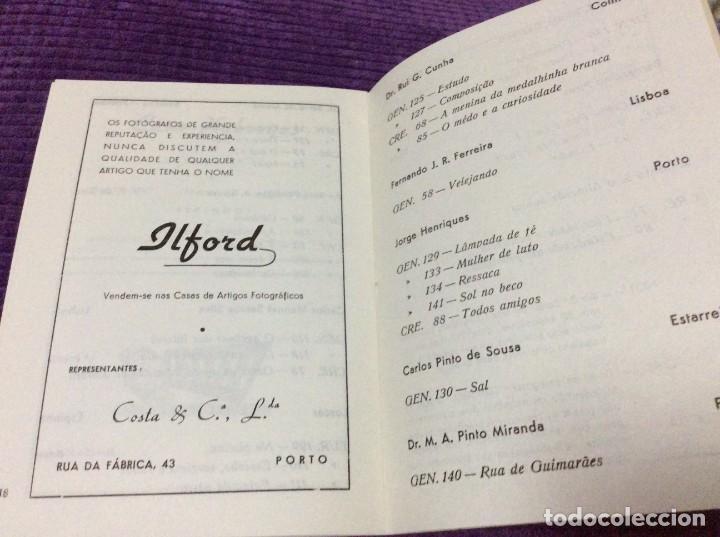 Libros de segunda mano: 3.º Salão de Arte Fotográfica de Espinho, 27 de Agosto a 7 de Setembro, 1954. En portugués. - Foto 5 - 218048277