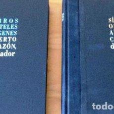 Libros de segunda mano: ALBERTO CORAZÓN, DISEÑADOR. TOMO I SIMBOLOS, OBJETOS - TOMO II LIBROS,CARTELES,IMAGENES. Lote 218092328
