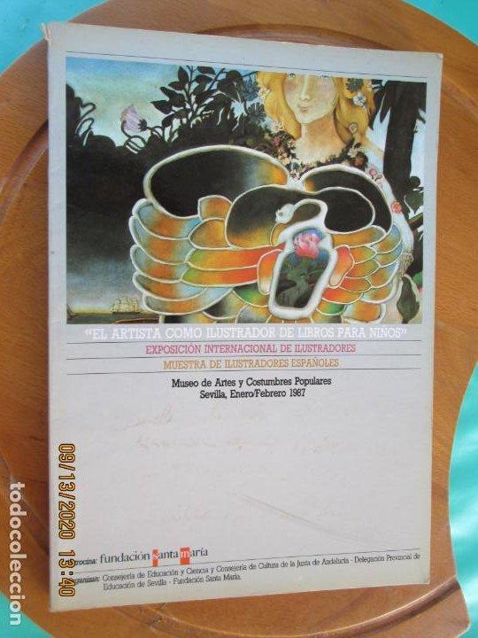 EL ARTISTA COMO ILUSTRADOR DE LIBROS PARA NIÑOS - SEVILLA 1987 (Libros de Segunda Mano - Bellas artes, ocio y coleccionismo - Diseño y Fotografía)