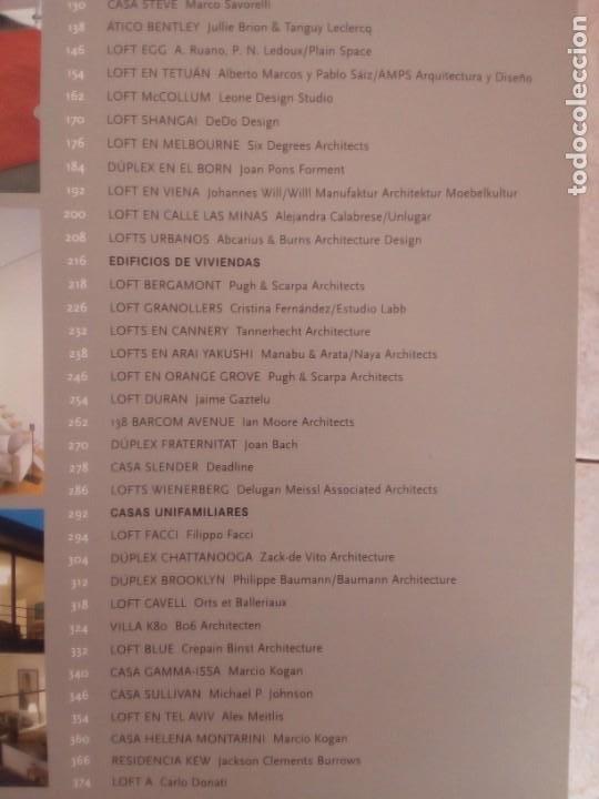 Libros de segunda mano: EL GRAN LIBRO DE LOS LOFTSANTONIO CORCUERAY AITANA LLEONART.MONSA 2007. - Foto 5 - 219416767