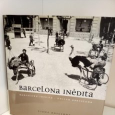 Libros de segunda mano: BARCELONA INEDITA-UNSEEN BARCELONA, FOTOGRAFIA / PHOTOGRAPHY, VIENA EDICIONS, 2003. Lote 219489490