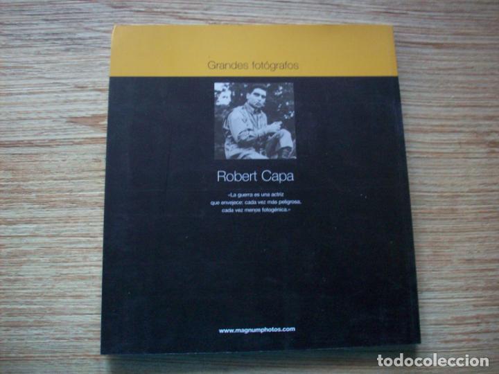 Libros de segunda mano: GRANDES FOTOGRAFOS - ROBERT CAPA . MAGNUM PHOTOS ( PARIS ) - Foto 2 - 219585220