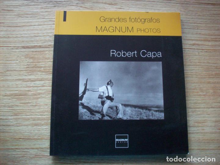 GRANDES FOTOGRAFOS - ROBERT CAPA . MAGNUM PHOTOS ( PARIS ) (Libros de Segunda Mano - Bellas artes, ocio y coleccionismo - Diseño y Fotografía)