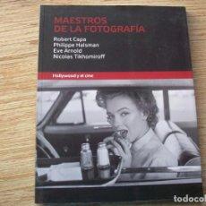 Libros de segunda mano: MAESTROS DE LA FOTOGRAFIA - HOLLYWOOD Y EL CINE - MAGNUM PHOTOS ( PARIS ) .. Lote 219586118