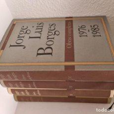 Libros de segunda mano: JORGE LUIS BORGES. OBRAS COMPLETAS - CIRCULO. Lote 219776391