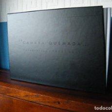 Libros de segunda mano: CÁMARA QUEMADA (FOTOGRAFÍAS 1973-2015) - JAIME DE LINOS - EDITA: MUSITARIFA (2017) - 3 TOMOS. Lote 221244591