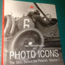 Libros de segunda mano: PHOTO ICONS - TASCHEN ICONS. Lote 221605967