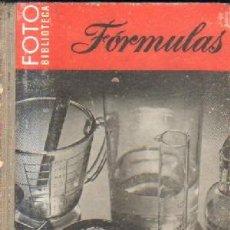 Libros de segunda mano: FORMULAS.EN VUESTRO CUARTO OSCURO. JOCOBSON, C.I. A-FOTO-619. Lote 221711640