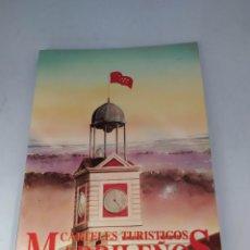 Libros de segunda mano: CARTELES TURÍSTICOS MADRILEÑOS. Lote 222442436