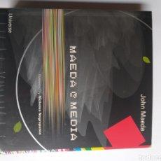 Libros de segunda mano: MAEDA MEDIA . JOHN MAEDA 2001. Lote 222552773