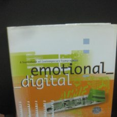 Libros de segunda mano: EMOTIONAL DIGITAL.A SOURCEBOOK OF CONTEMPORARY TYPOGRAPHIES. THAMES & HUDSON. Lote 222554866