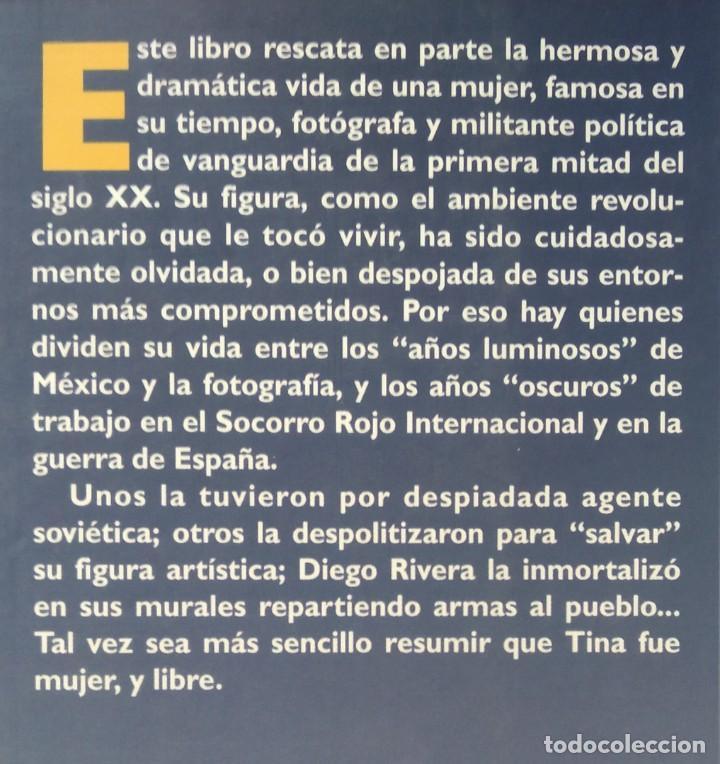 Libros de segunda mano: TINA MODOTTI ---- CHRISTIANE BARCKHAUSEN-CANALE - Foto 2 - 222806733