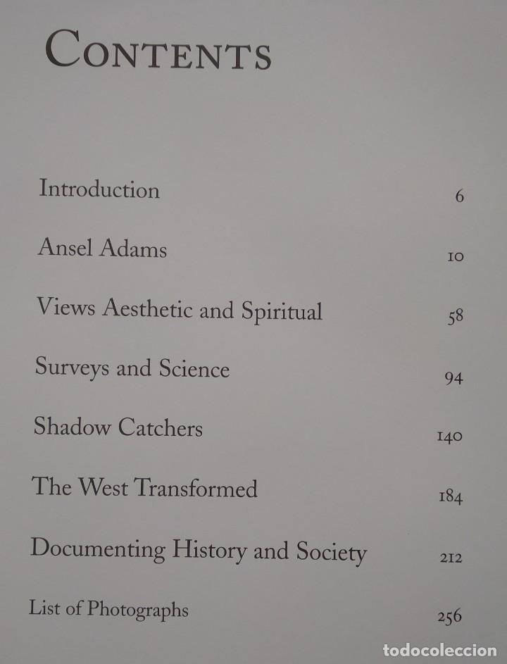 Libros de segunda mano: ANSEL ADAMS AND THE PHOTOGRAPHERS OF THE AMERICAN WEST -- EVA WEBER - Foto 8 - 222834985