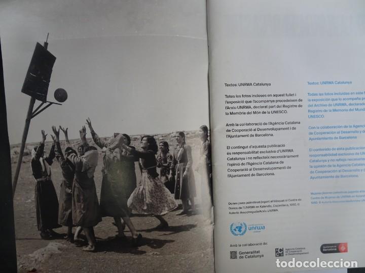 Libros de segunda mano: MUJERES REFUGIADAS DE PALESTINA, ESP-CAT, ILUSTRADO, UNRWA CATALUNYA, VER FOTOS - Foto 3 - 223067020