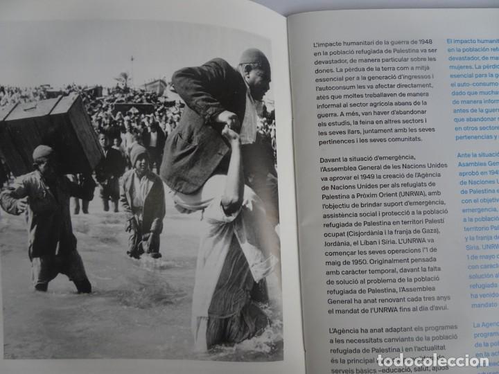Libros de segunda mano: MUJERES REFUGIADAS DE PALESTINA, ESP-CAT, ILUSTRADO, UNRWA CATALUNYA, VER FOTOS - Foto 4 - 223067020
