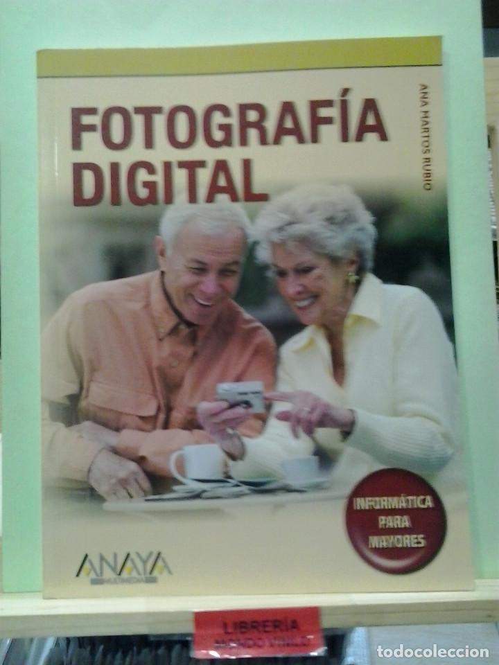 LMV - FOTOGRAFÍA DIGITAL, INFORMÁTICA PARA MAYORES. ANA MARTOS RUBIO (Libros de Segunda Mano - Bellas artes, ocio y coleccionismo - Diseño y Fotografía)