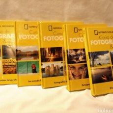 Libros de segunda mano: CURSO DE FOTOGRAFÍA. NATIONAL GEOGRAPHIC. 5 VOLÚMENES.. Lote 224907782