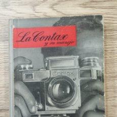 """Libros de segunda mano: W.D.EMANUEL """"LA CONTAX Y SU MANEJO"""".. Lote 225120015"""
