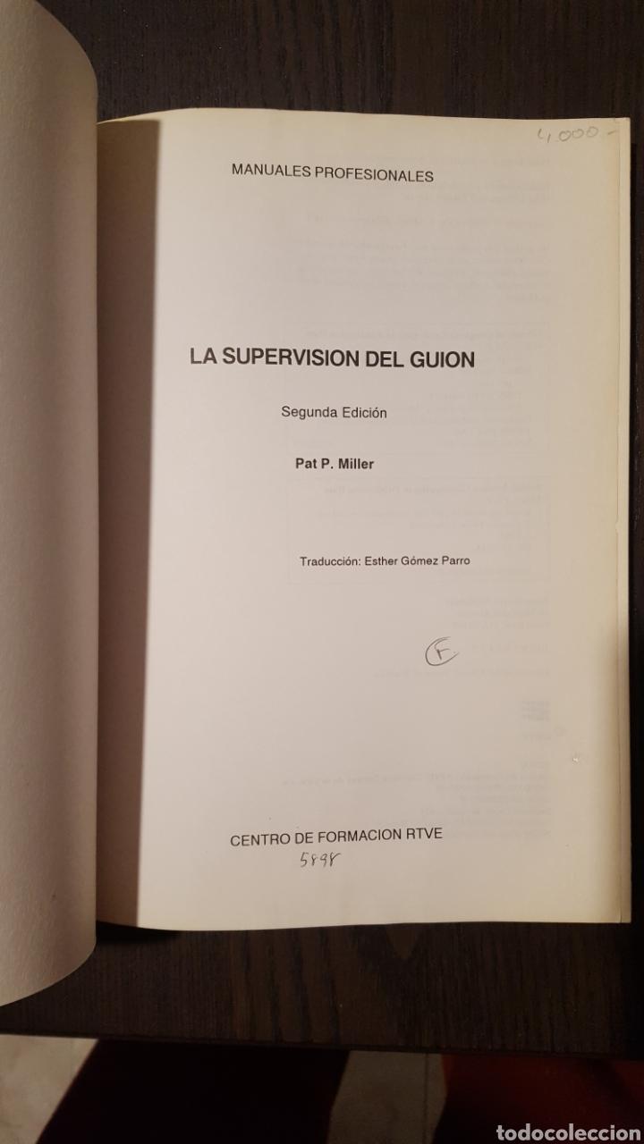Libros de segunda mano: Libro - LA SUPERVISIÓN DEL GUIÓN / PAT P. MILLER -ED. AÑO 1991- CENTRO DE FORMACIÓN RADIOTELEVISION - Foto 4 - 225822365