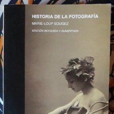 Livres d'occasion: MARIE-LOUP SOUGEZ . HISTORIA DE LA FOTOGRAFÍA . CÁTEDRA. Lote 226650106