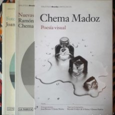 Libros de segunda mano: CHEMA MADOZ . POESÍA VISUAL. FOTOPOEMARIO / NUEVAS GREGUERÍAS. Lote 226745745