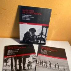 Libri di seconda mano: MAESTROS DE LA FOTOGRAFÍA. Lote 227679085