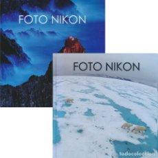 Libros de segunda mano: FOTO NIKON 09 Y 11. TAPA DURA. 2009 2011. Lote 228366665