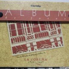 Libros de segunda mano: ÁLBUM DE FOTOS. EL IDEAL GALLEGO. LA CORUÑA 1870/1996.. Lote 229776375