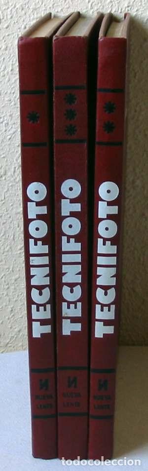TECNIFOTO - ENCICLOPEDIA DE FOTOGRAFÍA - 3 TOMOS COMPLETA - ED. NUEVA LENTE 1977 - VER INDICES (Libros de Segunda Mano - Bellas artes, ocio y coleccionismo - Diseño y Fotografía)