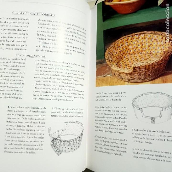 Libros de segunda mano: DECORAR CON ESTAMPADOS Y TEXTURAS, LAURA ASHLEY, DISEÑO / DESIGN, EDITORIAL EVEREST, 1998 - Foto 2 - 231004550