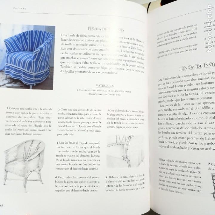Libros de segunda mano: DECORAR CON ESTAMPADOS Y TEXTURAS, LAURA ASHLEY, DISEÑO / DESIGN, EDITORIAL EVEREST, 1998 - Foto 4 - 231004550