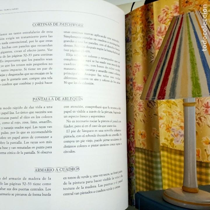Libros de segunda mano: DECORAR CON ESTAMPADOS Y TEXTURAS, LAURA ASHLEY, DISEÑO / DESIGN, EDITORIAL EVEREST, 1998 - Foto 5 - 231004550