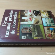 Libros de segunda mano: GRAN MANUAL PRACTICO DE LA DECORACION / REDACCION DEL WOHNEN / EVEREST / Q206. Lote 231743220