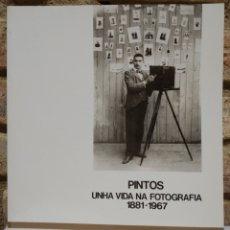Libros de segunda mano: PINTOS. UNHA VIDA NA FOTOGRAFÍA (1881-1967)XUNTA DE GALICIA 1985.. Lote 232175510