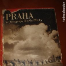 Libros de segunda mano: PRAGA. 208 BONITAS FOTOGRAFÍAS DE KARLA PLICKY. AÑO 1940.. Lote 235734000