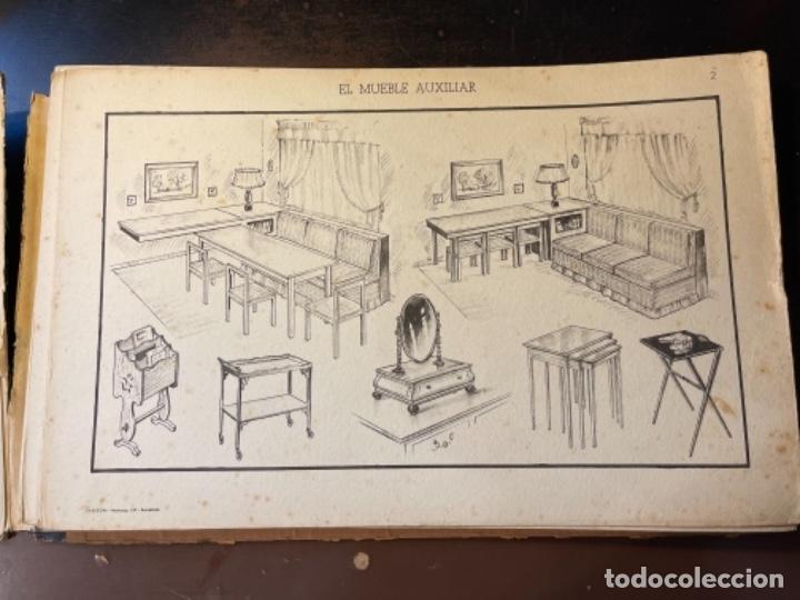 Libros de segunda mano: EL MUEBLE AUXILIAR LIBRO CATÁLOGO COMPLETO CON LAS 25 LÁMINAS MED.: 31X21 CMS. (T1) - Foto 3 - 236552025