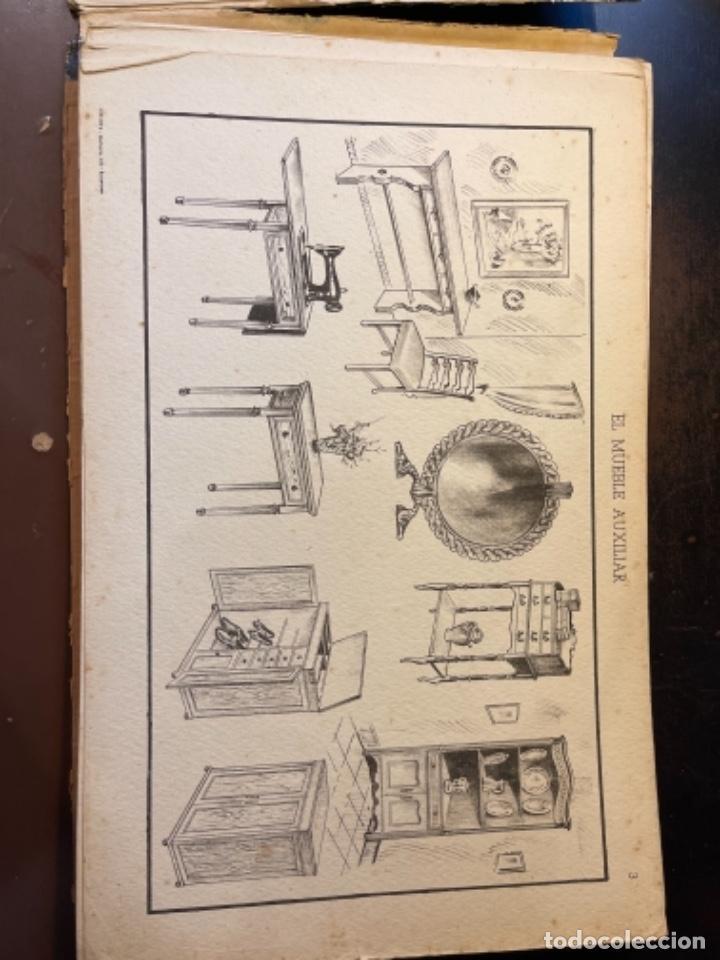 Libros de segunda mano: EL MUEBLE AUXILIAR LIBRO CATÁLOGO COMPLETO CON LAS 25 LÁMINAS MED.: 31X21 CMS. (T1) - Foto 4 - 236552025