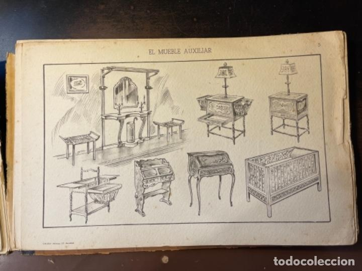 Libros de segunda mano: EL MUEBLE AUXILIAR LIBRO CATÁLOGO COMPLETO CON LAS 25 LÁMINAS MED.: 31X21 CMS. (T1) - Foto 6 - 236552025