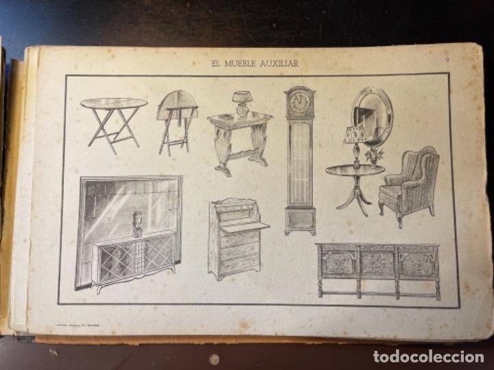 Libros de segunda mano: EL MUEBLE AUXILIAR LIBRO CATÁLOGO COMPLETO CON LAS 25 LÁMINAS MED.: 31X21 CMS. (T1) - Foto 7 - 236552025